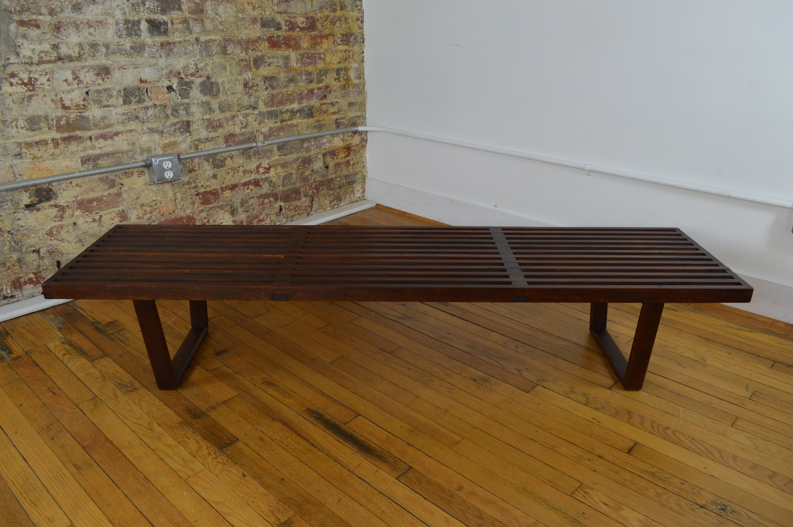 Awe Inspiring Early George Nelson Bench Coffee Table Creativecarmelina Interior Chair Design Creativecarmelinacom