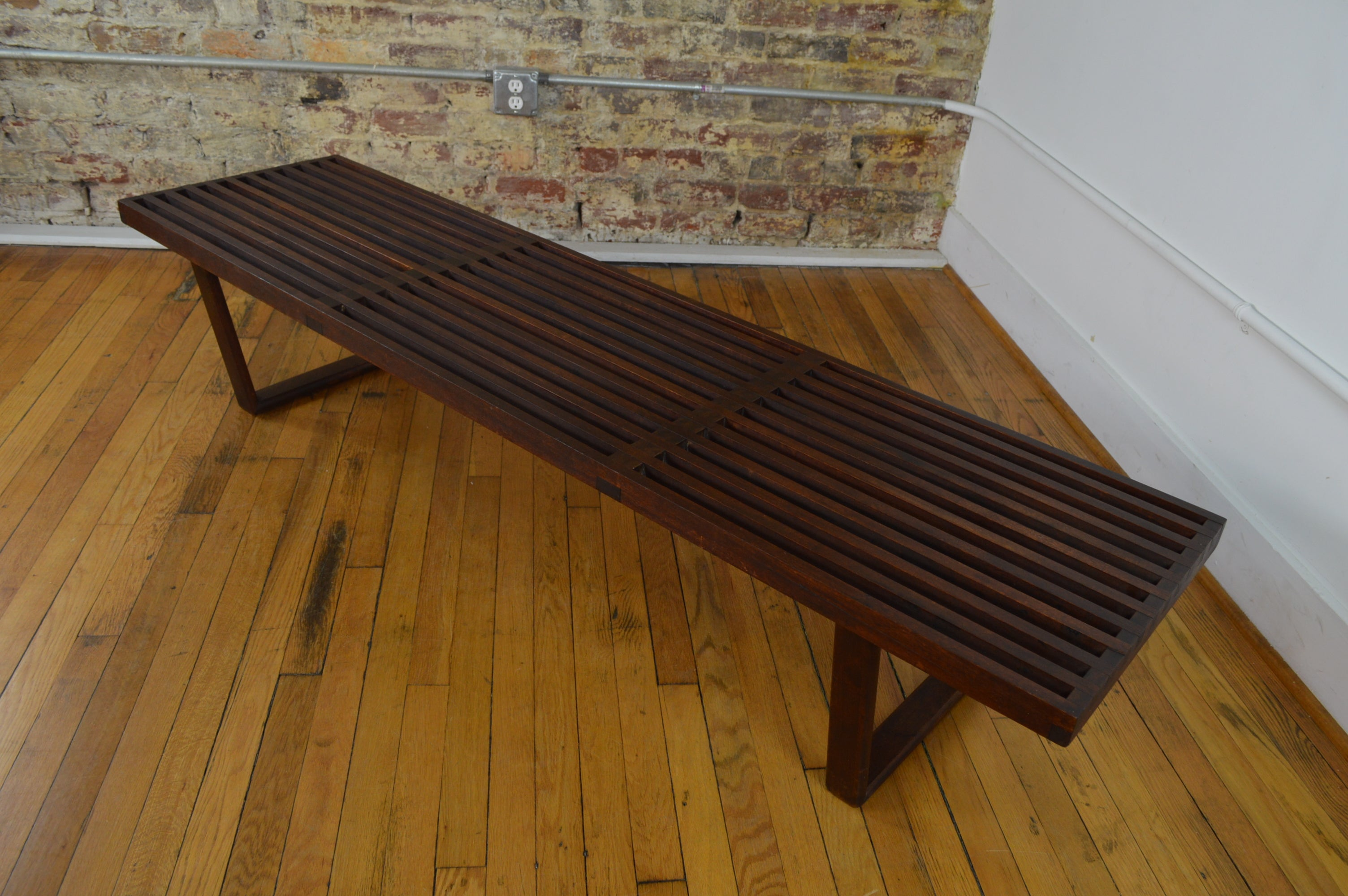Enjoyable Early George Nelson Bench Coffee Table Theyellowbook Wood Chair Design Ideas Theyellowbookinfo