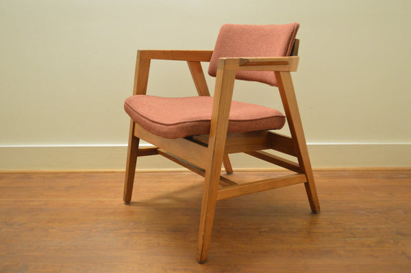Vintage Chair By W H Gunlocke 1950 S Galaxiemodern