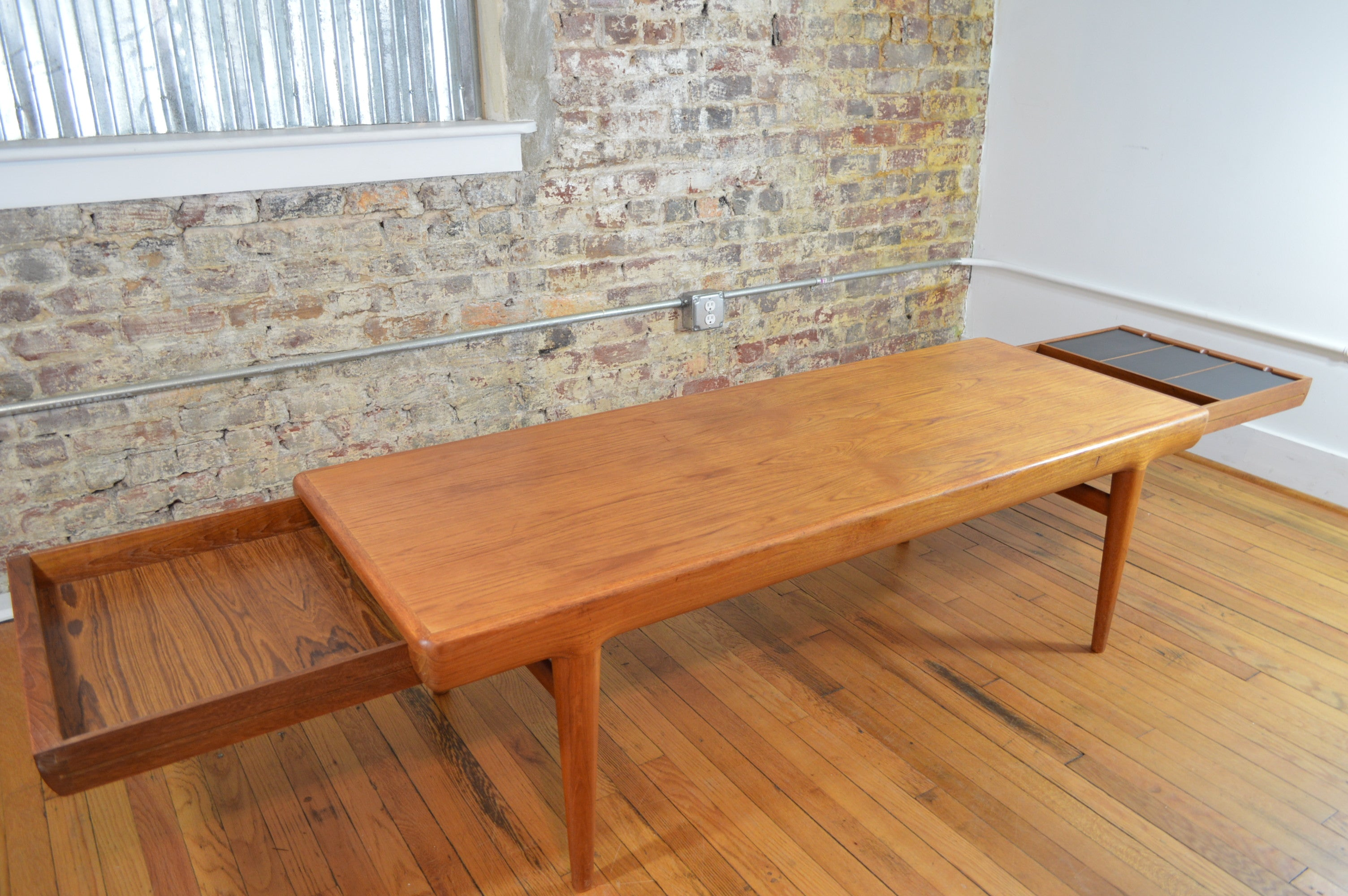 Johannes Andersen for Uldum Mobelfabrik Teak Coffee Table with