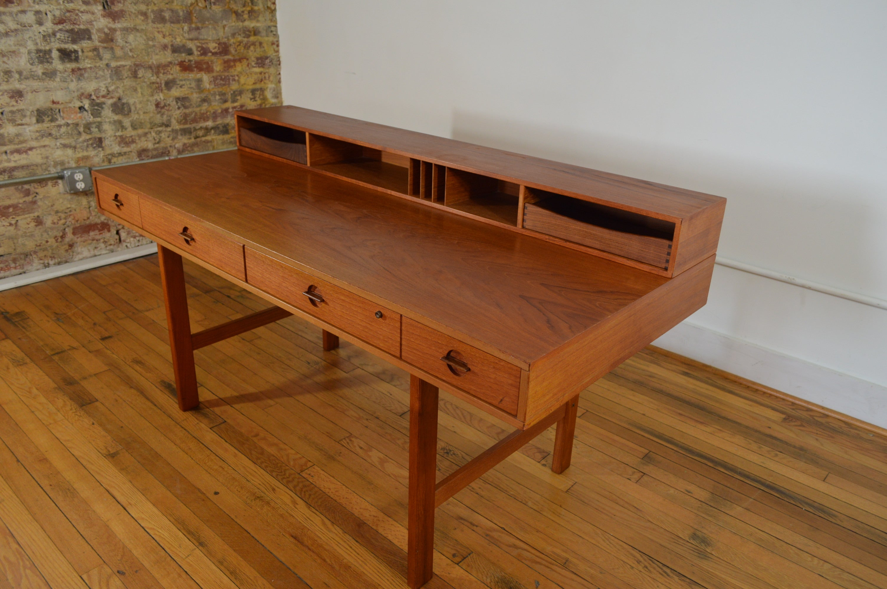 collection danish century in mid art of teak room desk