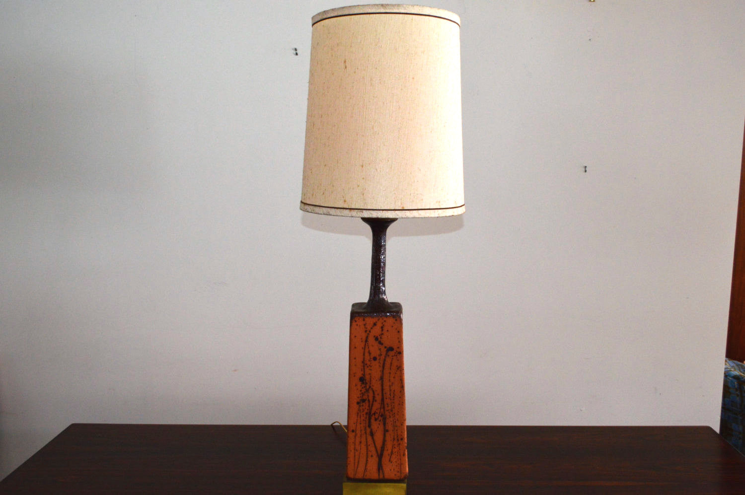 Lovely art pottery table lamp galaxiemodern lovely art pottery table lamp mozeypictures Choice Image