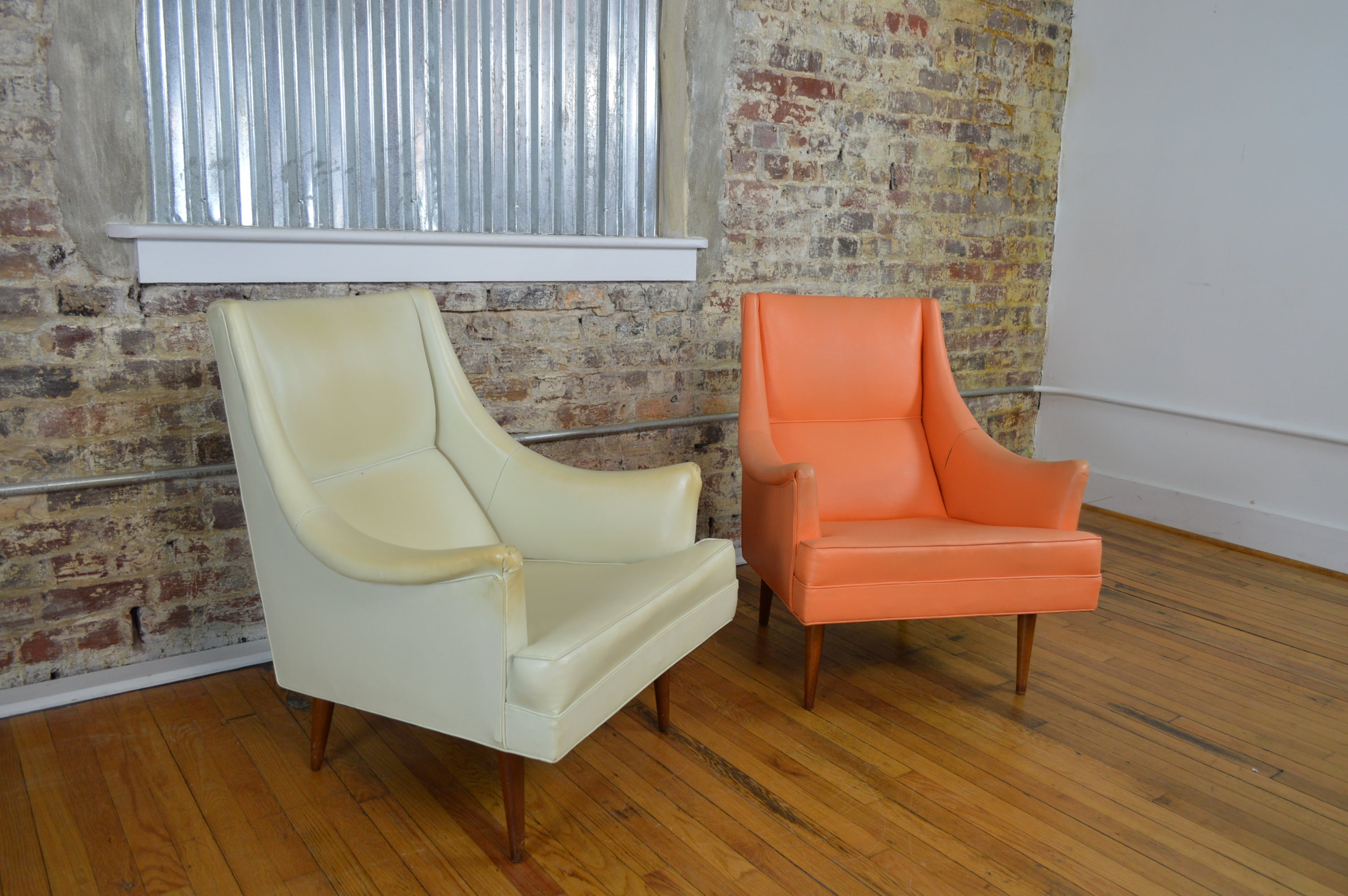 Milo Baughman For James Inc Mid Century Modern Lounge Chairs