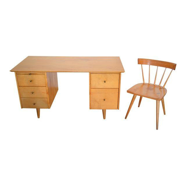 Paul Mccobb For Winchendon Planner Group Desk And Chair