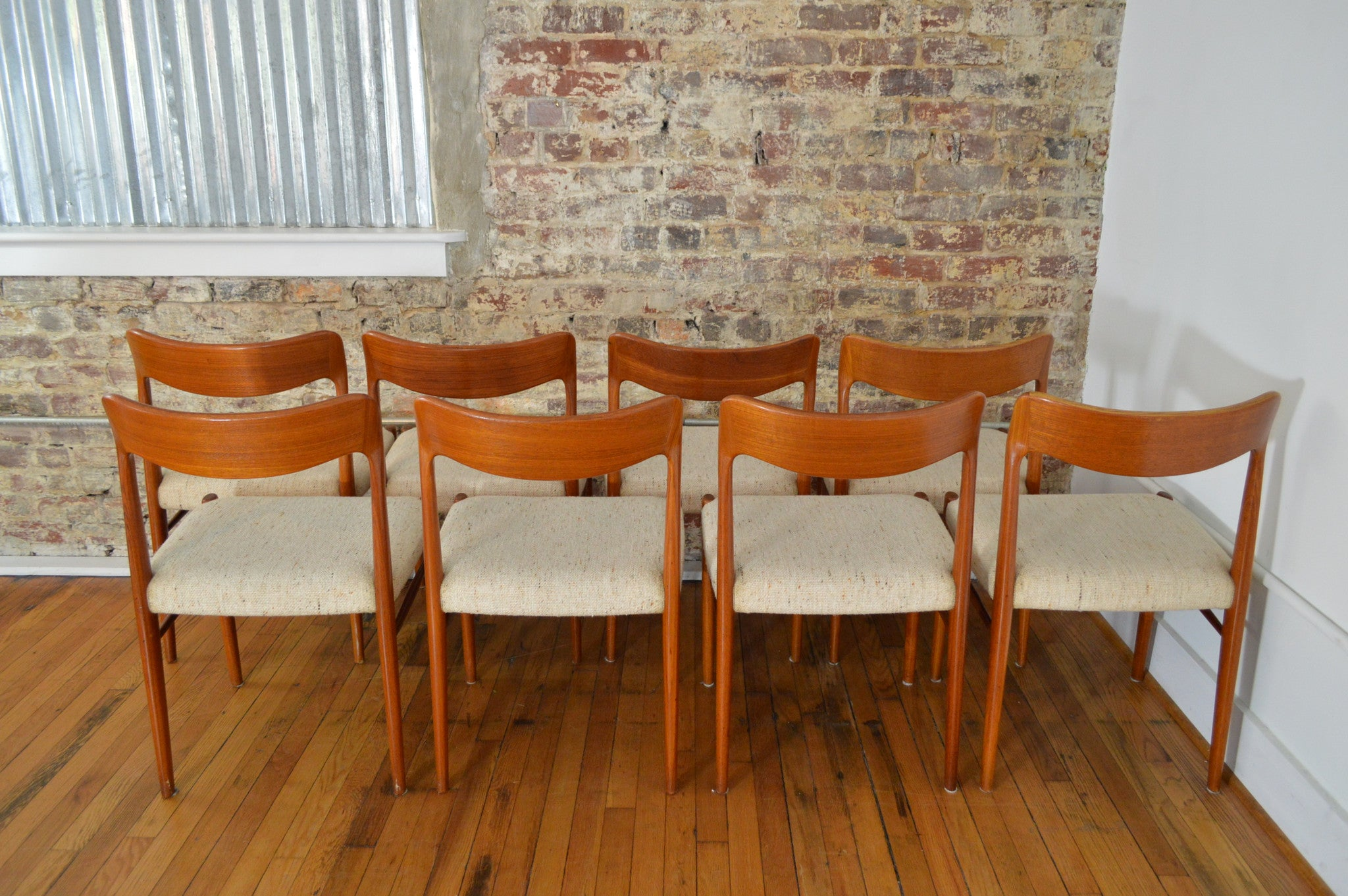Teak dining room chairs - Sva Mobler Danish Teak Dining Chairs Set Of 8