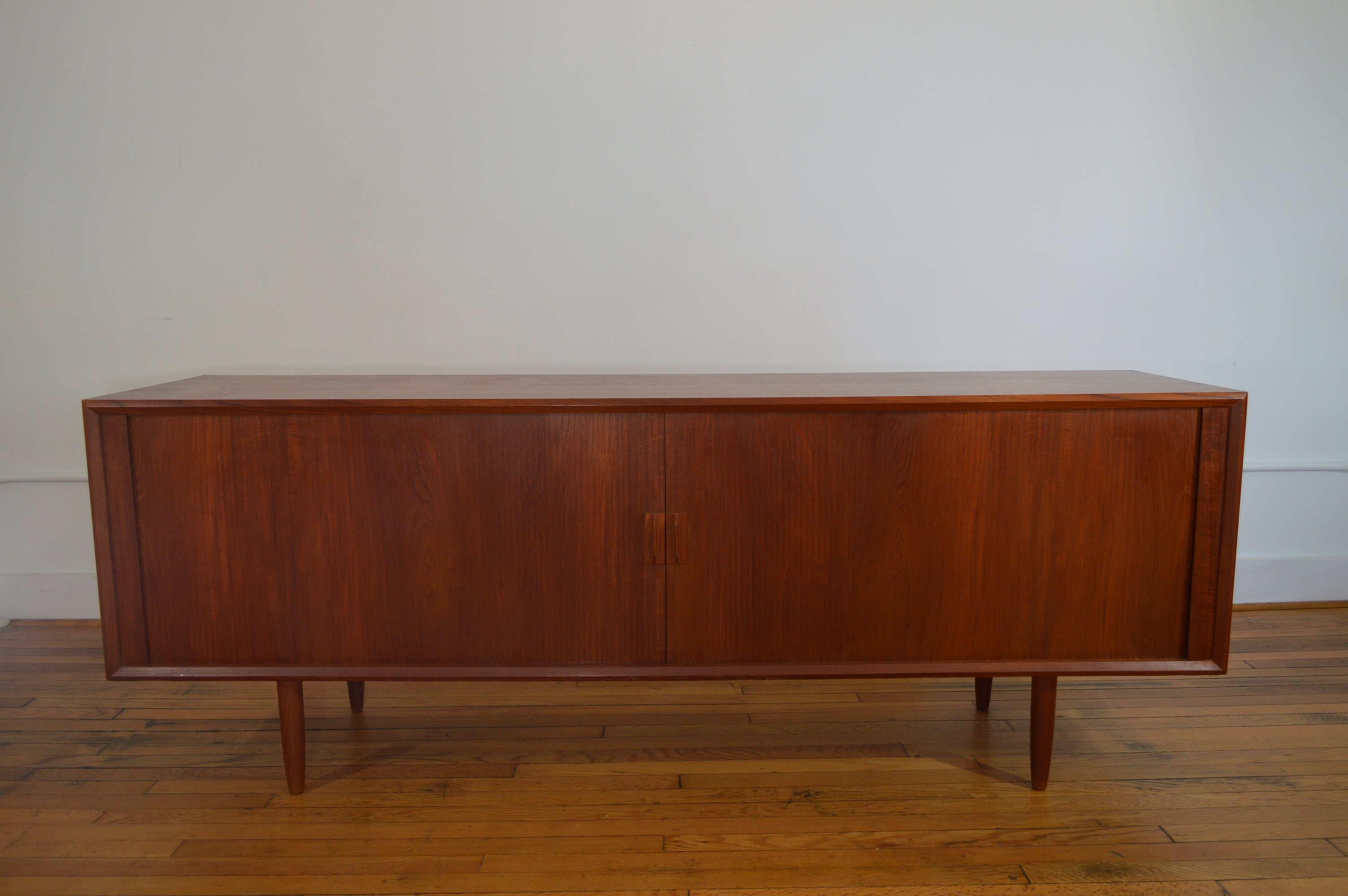 Danish Buffet Credenza : Sven aage larsen for faarup mobelfabrik danish teak credenza with