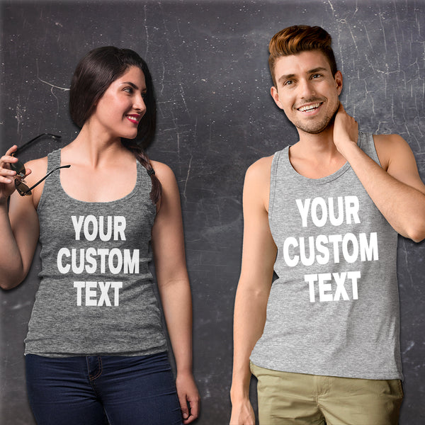 Custom Tank Tops | Women's Racerback Tanks & Men's Tank Tops