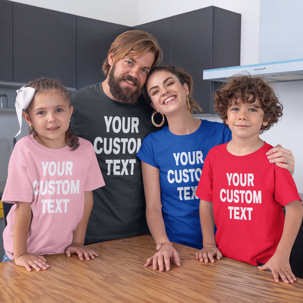 Custom T-shirts For The Whole Family | Men's, Women's & Youth T-shirts