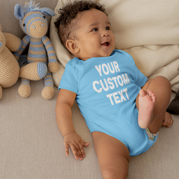 Custom Infant One-Piece Romper Bodysuit