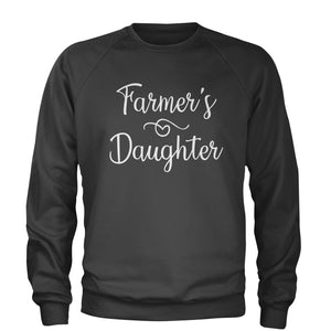 Farmer's Daughter Adult Crewneck Sweatshirt