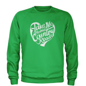 Take Me Home Country Roads Adult Crewneck Sweatshirt