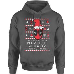 Merc With A Mouth Ugly Christmas  Adult Hoodie Sweatshirt