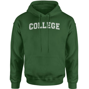 College Belushi Bluto Tribute Adult Hoodie Sweatshirt