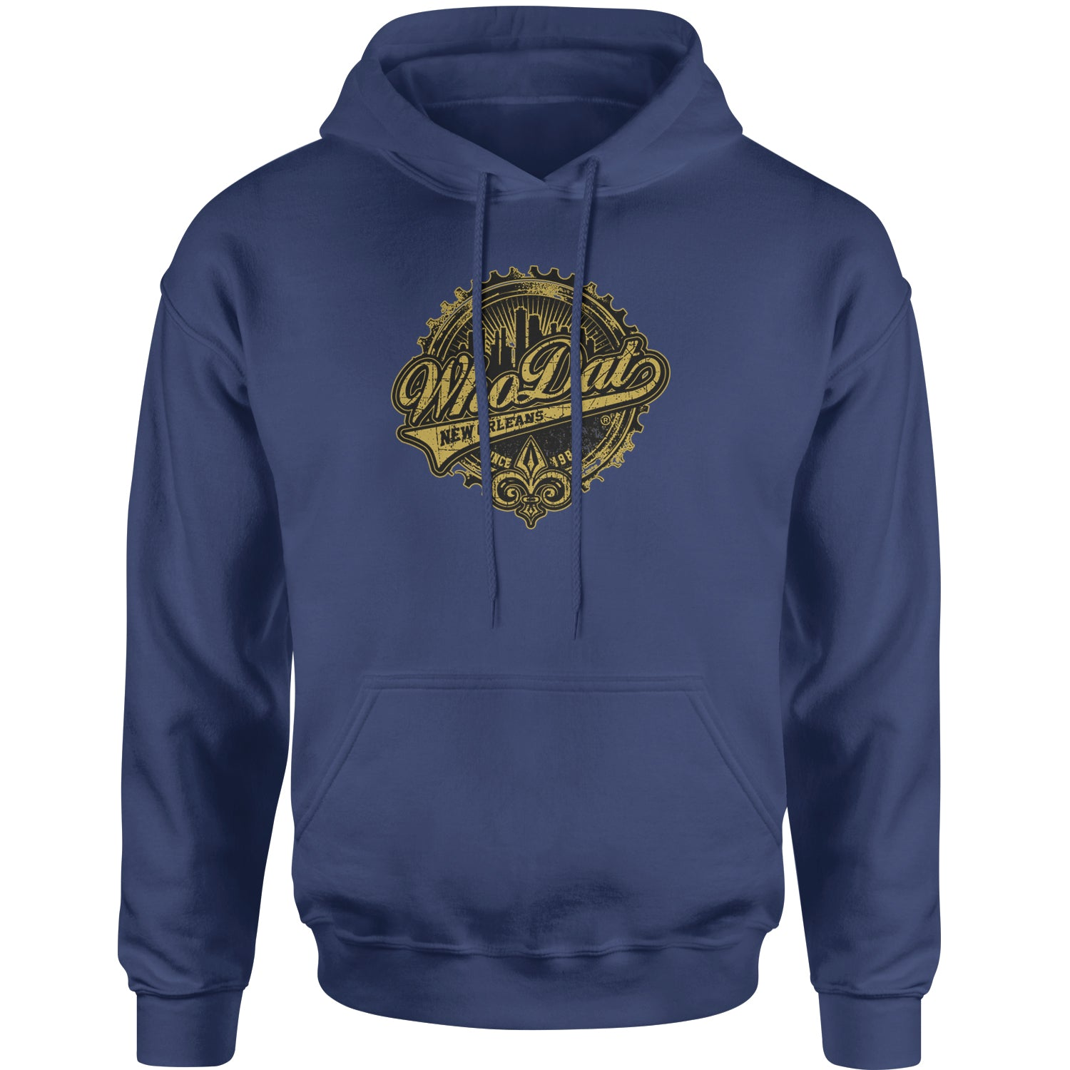 Expression Tees Bottle Cap Who Dat New Orleans Youth-Sized Crewneck Sweatshirt