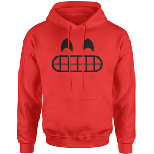 Emoticon Grinning Smile Face Adult Hoodie Sweatshirt
