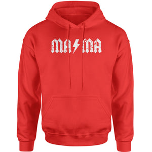 Mama Lightning Bolt Mother's Day Adult Hoodie Sweatshirt