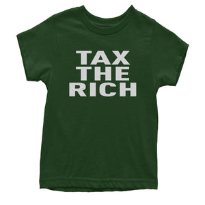 Tax The Rich Progressive Activist  Youth T-shirt