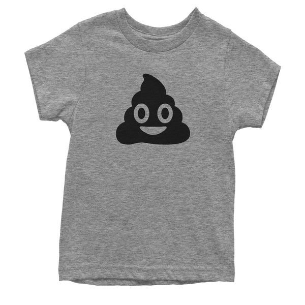 Emoticon Poop Face Smile Face Youth T-shirt
