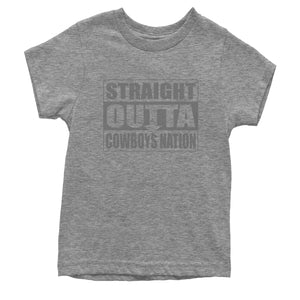 Straight Outta Cowboys Nation Football  Youth T-shirt