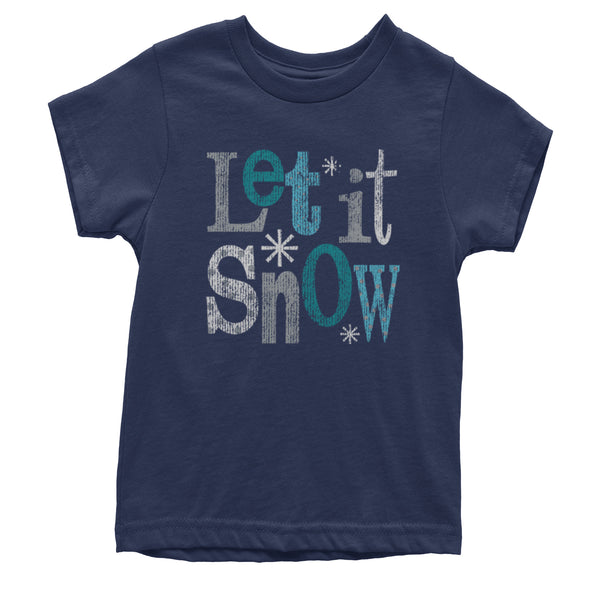 Let It Snow Youth T-shirt