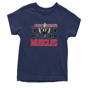 Dwight Schrute Gym For Muscles Youth T-shirt