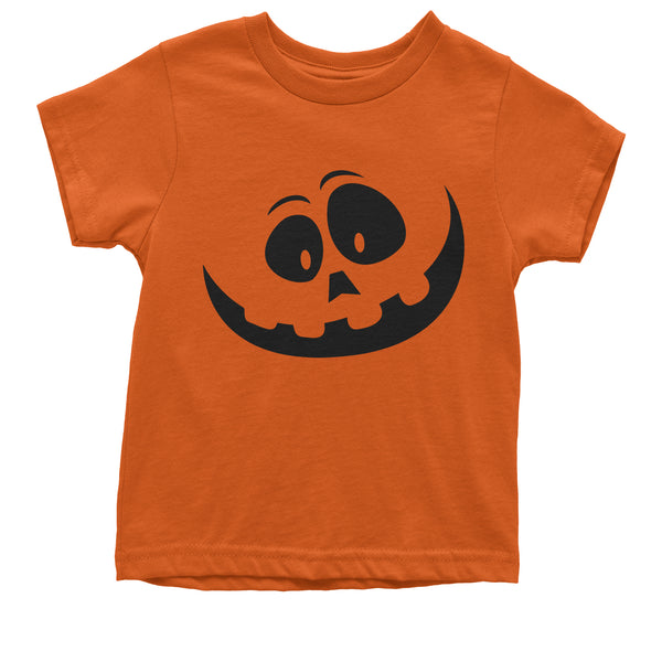 Silly Pumpkin Face (Black Print) Youth T-shirt