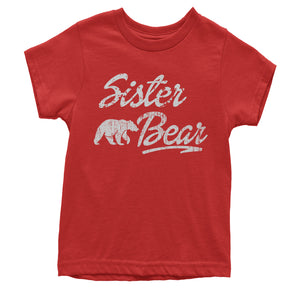 Sister Bear Cub Family  Youth T-shirt