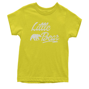 Little Bear Cub Family  Youth T-shirt