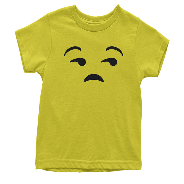 Emoticon Whatever Smile Face Youth T-shirt