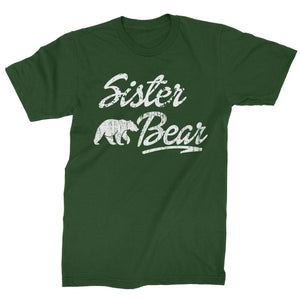 Sister Bear Cub Family  Mens T-shirt