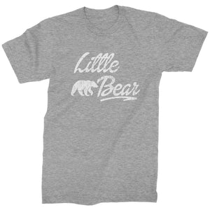 Little Bear Cub Family  Mens T-shirt