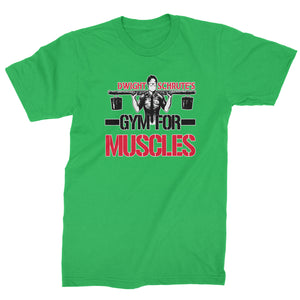 Dwight Schrute Gym For Muscles Mens T-shirt