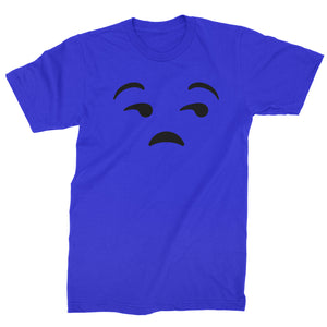 Emoticon Whatever Smile Face Mens T-shirt
