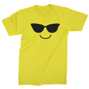 Emoticon Sunglasses Smile Face Mens T-shirt