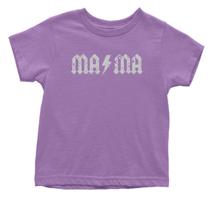 Mama Lightning Bolt Mother's Day Toddler T-Shirt