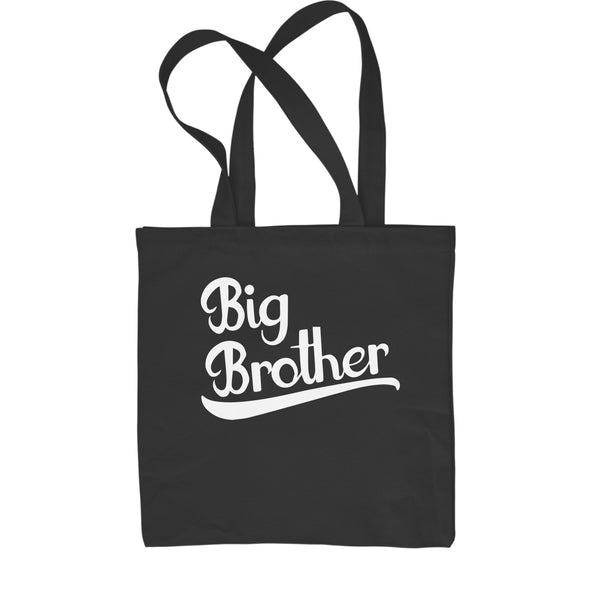 Big Brother New Family Member Shopping Tote Bag