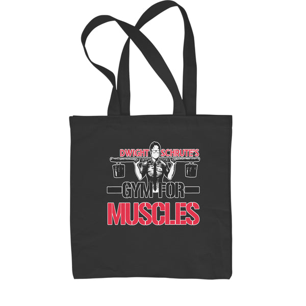 Dwight Schrute Gym For Muscles Shopping Tote Bag