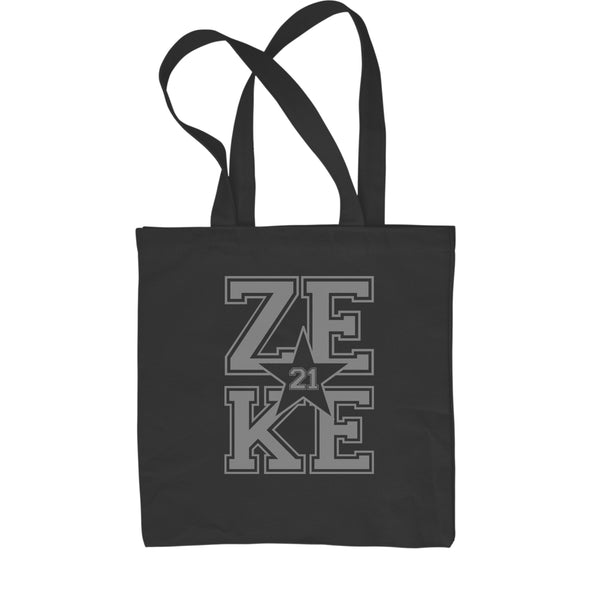 Zeke 21 Feed Zeke  Shopping Tote Bag