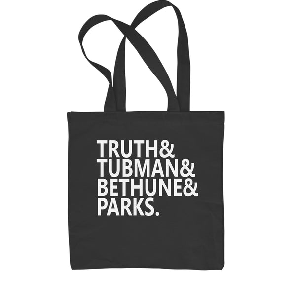 Truth Tubman Bethune Parks  Shopping Tote Bag