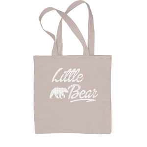 Little Bear Cub Family  Shopping Tote Bag