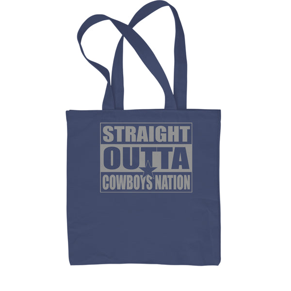 Straight Outta Cowboys Nation Football  Shopping Tote Bag