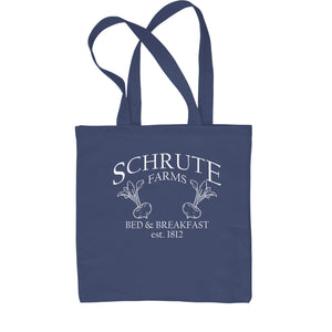 Schrute Farms Bed and Breakfast Office Shopping Tote Bag