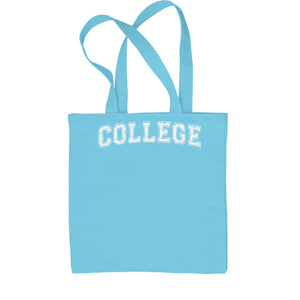 College Belushi Bluto Tribute Shopping Tote Bag
