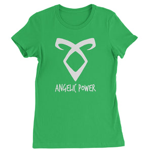 Angelic Power Rune Enkeli  Womens T-shirt