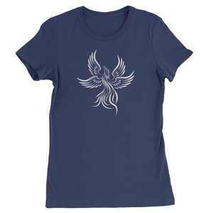 Phoenix Rising from the Ashes  Womens T-shirt
