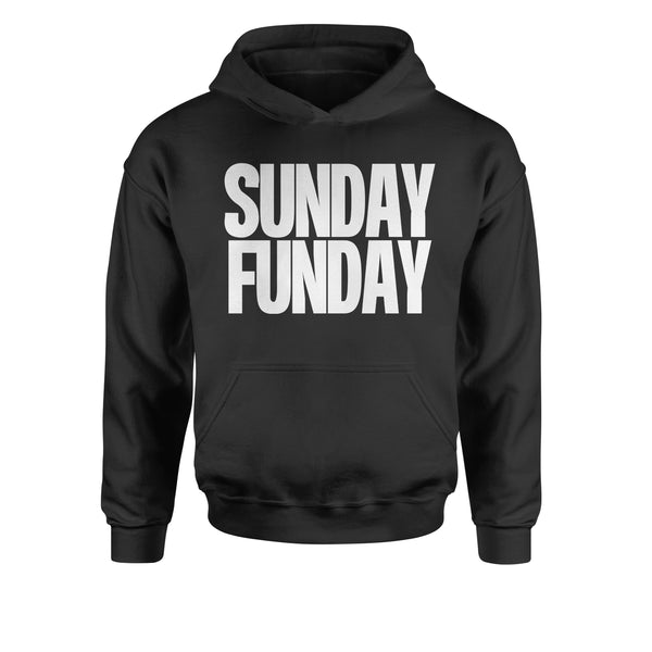 Sunday Funday  Youth-Sized Hoodie