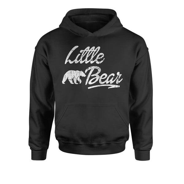 Little Bear Cub Family  Youth-Sized Hoodie