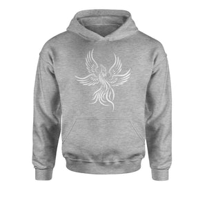 Phoenix Rising from the Ashes  Youth-Sized Hoodie