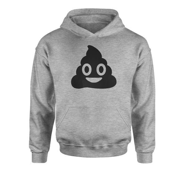 Emoticon Poop Face Smile Face Youth-Sized Hoodie
