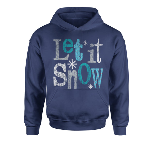 Let It Snow Youth-Sized Hoodie